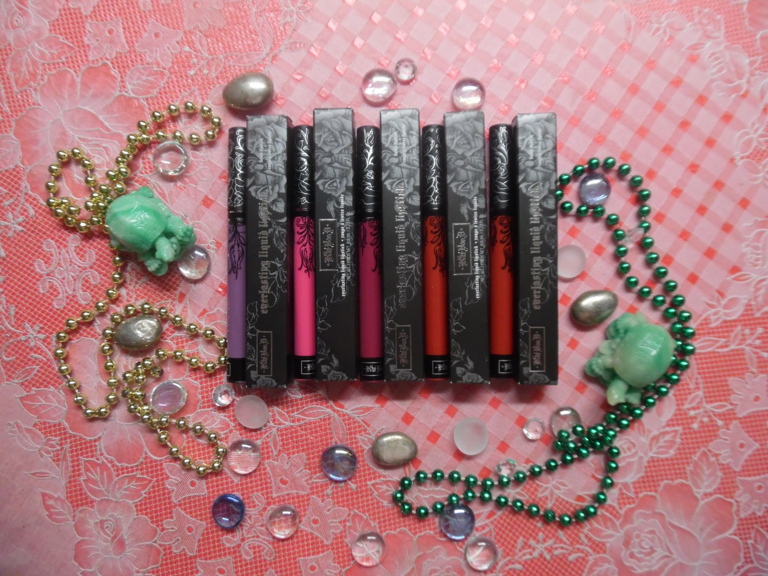 KAT VON D Lot Of 5 Different Everlasting Liquid Lipsticks