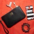 Liz Claiborne Black Phone Charging  Wristlet Wallet
