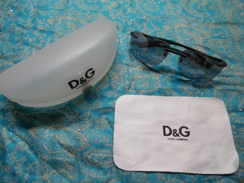 DOLCE & GABBANA Black Tinted Sunglasses