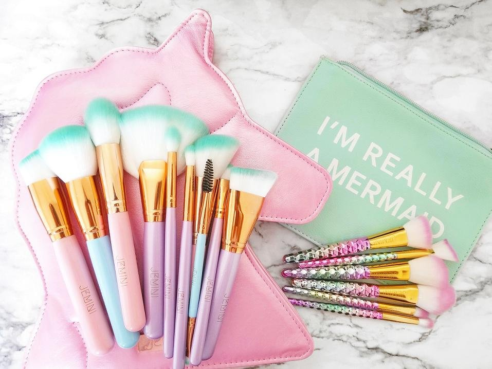 JEM Unicorn And Mermaid Brush Set Combo