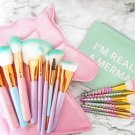 JEMINI Unicorn And Mermaid Brush Set Combo
