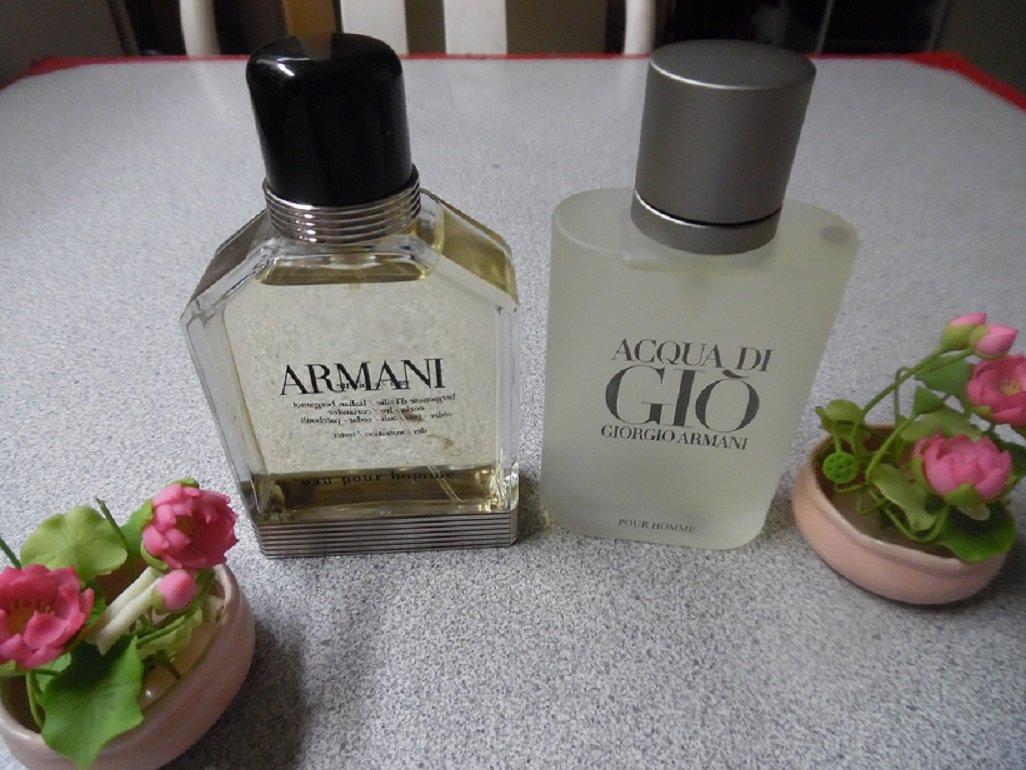 ARMANI EDT & GIORGIO ARMANI Aqua Di Gio Pour Homme EDT Combo