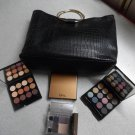 QUO And LISE WATIER Limited Edition Set With Black Faux-Leather Bangle Handle Bag