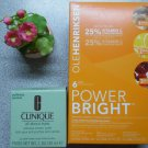 CLINIQUE All About Eyes And OLE HENRIKSEN Power Bright 3-Step Brightening System Combo