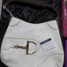 #Gucci Off-White Leather Shoulder Horsebit Hasler Hobo Bag (More Photos of Gucci Bag)
