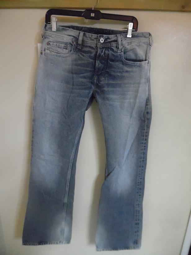DIESEL Button Fly Denim Jeans - Size 30 ( 30 inches / 81.28 cm waist size)
