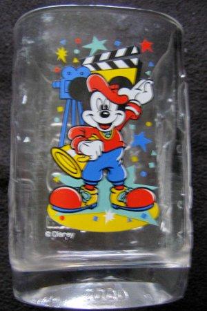 McDonald 2000 Mickey Mouse Walt Disney World embossed tumbler