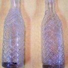 Orange Dandy Co. bottle with diamond pattern