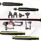 PATHFINDER New Front Rear Suspension Steering Kit Tie Rod Ends Shock Absorbers