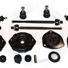 New Front Rear Suspension Steering Kit Ball Joints Tie Rod Ends Sway Bar Links