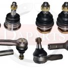 Xterra Front Steering Parts Inner Outer Tie Rods Ends Upper Lower Ball Joints