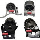 2002-2006 FITS Altima 2.5L Sedan Transmission Engine Mounts Front Right Rear Set 4