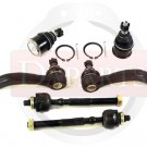 New Suspension Parts Repair Set Inner Outer Tie Rods Ends Lower Ball Joints