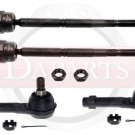LINCOLN Mark LT 4WD New Front Steering Kit Inner Outer Tie Rod Ends Both Sides
