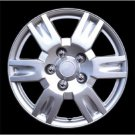 "New Silver Lacquer Wheel Cover 16"" Rim Retention Ring Installation Free Shipping"