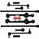Control Arms With Ball Joints & Bushings Inner & Outer Tie Rod Ends  RH & LH
