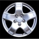 New Easy Installation Wheel Covers Hub Caps Silver Lacquer Full Set Of 4 Acc