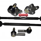 Kit Repair Chevy GEO Prizm Steering Tie Rod End Lower Ball Joints Parts Linkages