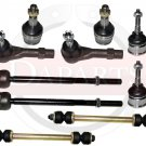 FORD Explorer 4.6L 8Cyl Front Suspension Steering Kit Tie Rod Ends Ball Joints