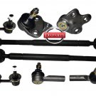 INNER & OUTER TIE ROD LOWER BALL JOINT SWAY BAR TOYOTA COROLLA