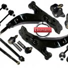 NEW KIT BALL ENDS TIE RODS SWAY BAR LINKS CONTROL ARMS