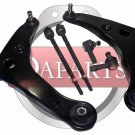 Control Arm Joints Assembly for Mitsubishi Lancer Steering Tie Rod End Kit Set