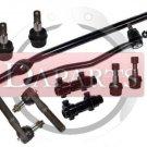 Ford Explorer Front Steering Kit Inner Outer Tie Rod Ends Center Link Adjusting