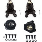 High Quality Front Suspension Ball Joints 2 Lower 2 Upper AfterMarket RH & LH