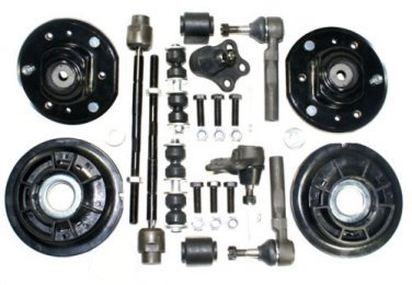Suspension Parts Inner outer Tie Rods Ball Joints Strut Mounts Stabilizer Bars
