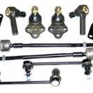 Pathfinder Steering Suspension Kit Lower Ball Joints Stabilizer Bar Rack Ends