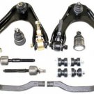 Steering Suspension Upper Control Arms Assembly Lower Ball Rack Ends Stabilizers