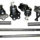 Durango Dakota 2WD Suspension Kit Upper Lower Ball Joints Inner Outer Tie Rods