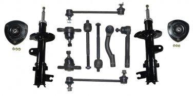2010 Kia Sportage Suspension & Steering Kit Inner Outer Tie Rod Ends RH & LH