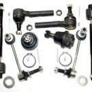 Parts Suspension Inner Outer Tie Rods Ends Stabilizer Bar Link Lower Ball Joints