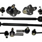 2 INNER 2 OUTER RACK ENDS 2 LOWER BALL JOINTS 2 REAR 2 FRONT STABILIZER BAR LINK