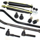 JEEP COMANCHE Front Suspension Shock Absorber Track Bar Tie Rods Ball Joints New