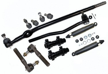 FORD 4wd Ranger Steering Kit Center Link Rack Ends Ball Joints Shock Absorber