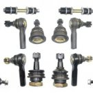 2000-2004 Xterra New Repair Ball Joints Rack Ends Sway Bar Links Rear And Front