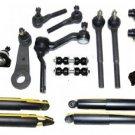 2005 Chevrolet Blazer Front Suspension Steering Kit Center Link Shock Absorbers