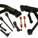 GMC Yukon XL 1500 Front Steering Kit Inner Outer Tie Rod Ends Pitman Idler Arm