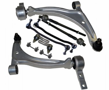 Fits Maxima Altima Suspension 2 Lower Control Arms Ball Joints Rack Ends Links