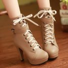 She's Strapped Booties Size 4 (American)