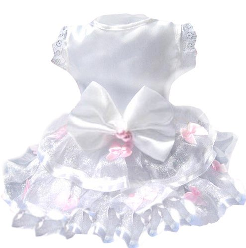 Spring Holiday Dress Dog Costume ( White - XXL )  ~gemsandstems.info~