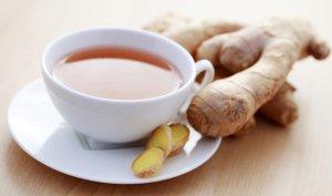 Natural GINGER Herbal Tea ( Zingiber officinale ) - 10 tea bags ~gemsandstems.info~