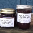 TRIPLE BERRY JAM ❀ ½ pint ❀ seedless   ~gemsandstems.info~