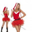 3pc Santas Sweetie Costume - Medium