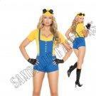 4pc Sexy Subordinate Minion Costume - Small