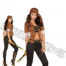 5pc Treasure Pirate Costume - Medium