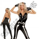 3pc Sexy Skeleton Costume - Small
