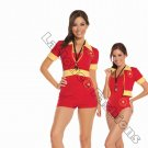 4pc Beach Patrol Lifeguard Costume - Small